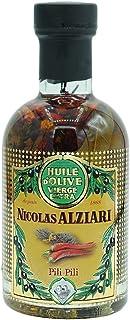 Olivenöl PILI PILI, Pizzaöl, Grillöl, kalt gepresstes Olivenöl mit Chili und Kräutern, Chiliöl aus Frankreich, 200ml