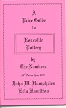 2010 Price Guide to Roseville Pottery By the Numbers, 28th Edition