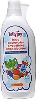 Tollyjoy Baby Accessories and Vegetable Liquid Cleanser, 900ml