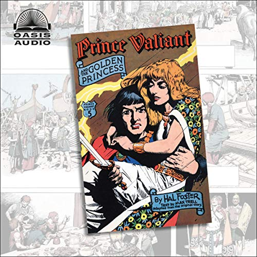 Prince Valiant and the Golden Princess cover art
