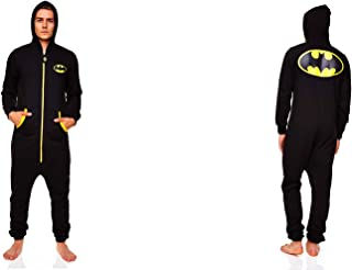Figurine DC Comics - Jumpsuit - Batman Black Logo Adulte - Taille L