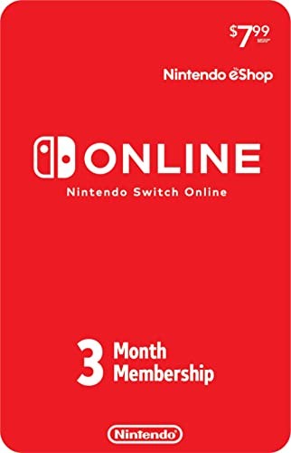 Nintendo Switch Online 3-Month Individual Membership [Digital Code]