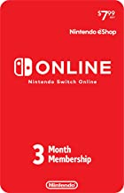 Nintendo Switch Online 3-Month Individual Membership [Digital Code]