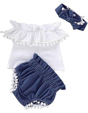 28d44a1e95b00f 子供服 女の子 コスチューム 子供 プリーツ トップス + デニムパンツ + スカーフ 3点セット ベビー服