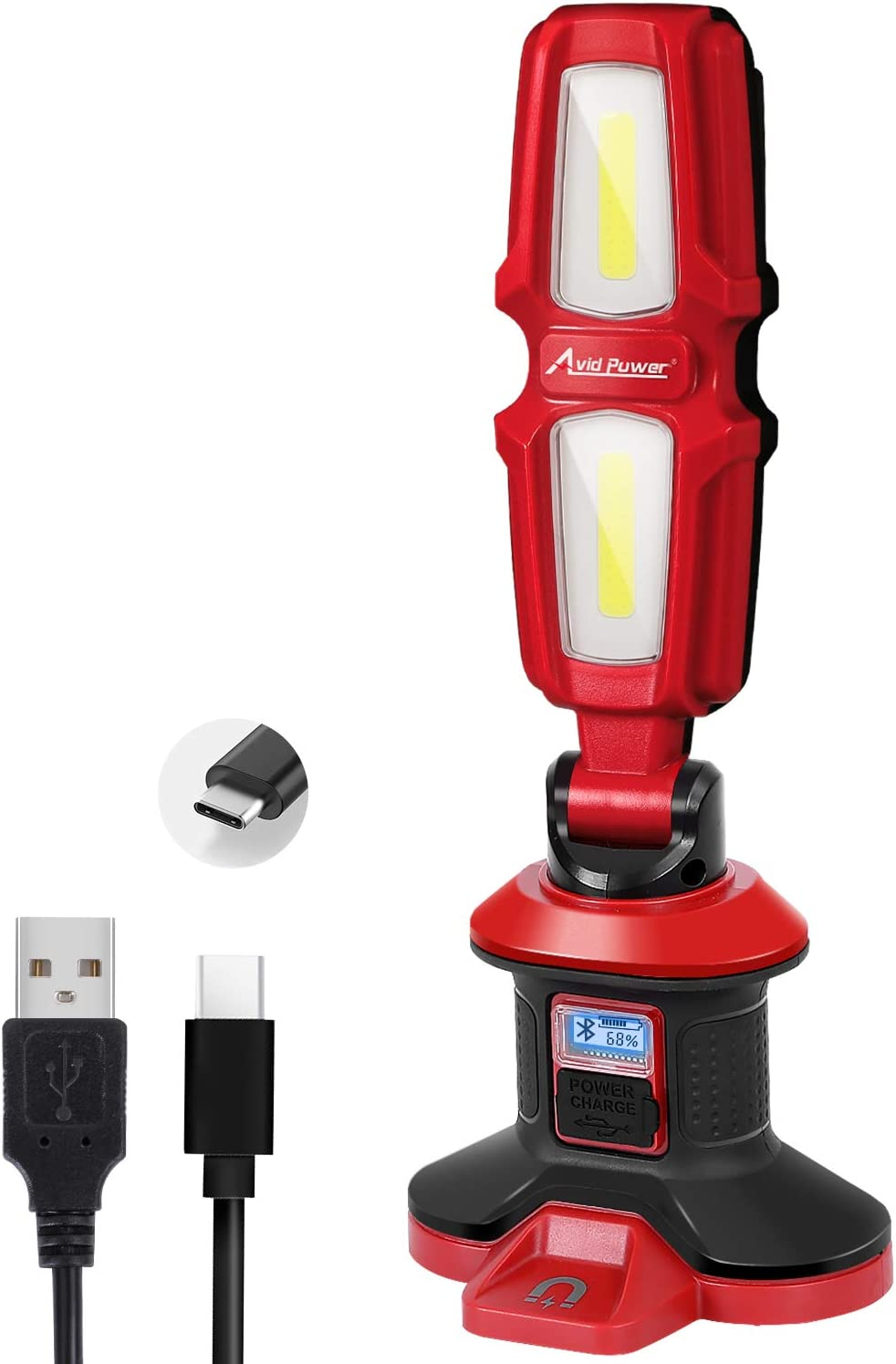 Work Light True Limited time cheap sale 2000 Lumens Cheap mail order sales 20W Flashlight LED Bl Rechargeable