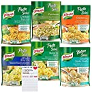 Knorr Pasta Sides Variety Pack of 6   Ready Pasta Sides in 6 Flavors   Magnetic Refrigerator Shopping Pad by Snack Fun