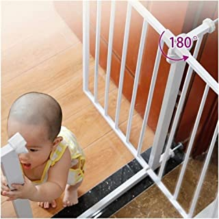 Free Punching Baby Gates for Stairs Guardrail Child Safety Door Fence Pet Isolation Door Bar Self Closing