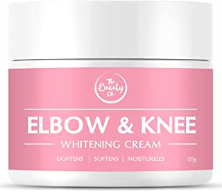The Beauty Co. Elbow and Knee Whitening Cream, 125 gm | Evens Skin Tone | Made in India