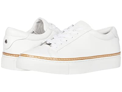 J/Slides Leyla (White Leather) Women