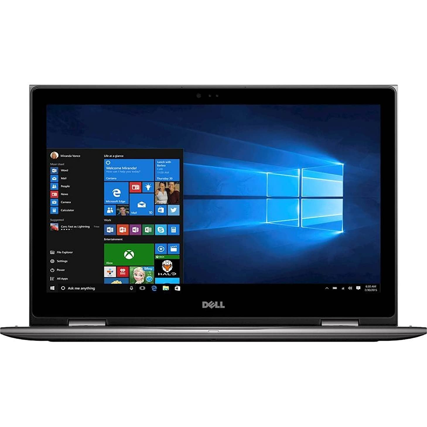 Dell Inspiron i5 2-in-1 SSD Premium Laptop Computer 2018, FHD IPS 15.6