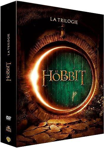 Coffret le hobbit (La trilogie DVD) : un voyage inattendu ;: la désolation de smaug ; la bataille des 5 armées [DVD]