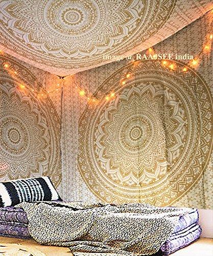 Raajsee Metall-Wandteppiche zum Aufhängen an der...