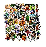 [50 piezas] DBZ Dragon Ball Z Son Goku - Vinilo Decal Laptop Sticker Notebook Skin Art Motocicleta Bicicleta Equipaje Graffiti Parches Patineta Snowboard Caja del teléfono Pegatinas