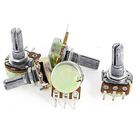 5 PCS B5K LIN POTENTIOMETERS VARIABLE RESISTOR 6mm