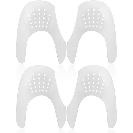 Mudder 2 Paare Sportschuhe Schuhe Schilde, Anti-Falten Schuhe Schilde Schutz Zehen Box Abnahme, Verhindern Sportschuhe Schuhe Falte Vertiefung