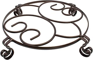 Decorative Iron Potted Plant Stand 9.5