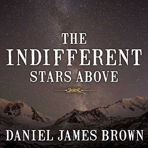 The Indifferent Stars Above audiobook cover art