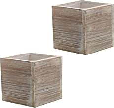 Best square wood crate Reviews
