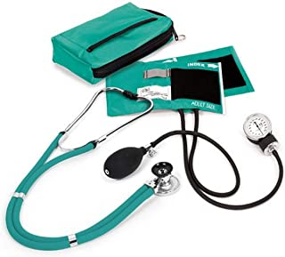 NCD Medical Sprague con presión arterial y estetoscopio Kit con a juego, color azul