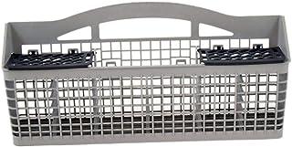 Whirlpool W10840140 Dishwasher Silverware Basket Original Equipment (OEM) Part, Gray