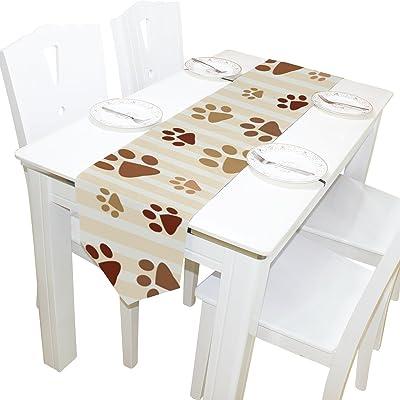 Amazon.com: Camino de mesa de doble cara egipcio de 5.1 x ...