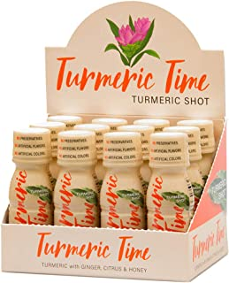 Sponsored Ad - Turmeric Time Turmeric Shots - Turmeric with Ginger, Citrus & Honey | Non-GMO | No Preservatives or Artific...