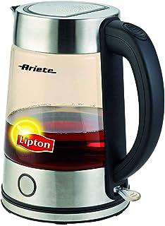Ariete Lipton Glass Kettle, Black, 2872