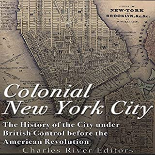 Colonial New York City audiobook cover art