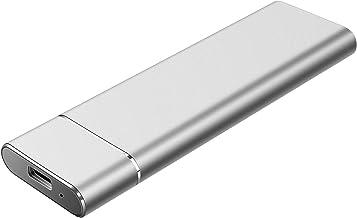 Disco Duro Externo 2tb USB 3.1 Disco Duro Externo para Mac, PC,MacBook, Chromebook, Xbox (2tb, Plata)