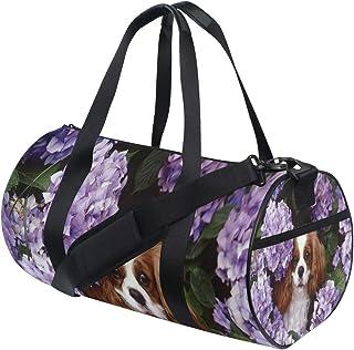 HUOPR5Q Foxes On Bicycle Drawstring Backpack Sport Gym Sack Shoulder Bulk Bag Dance Bag for School Travel