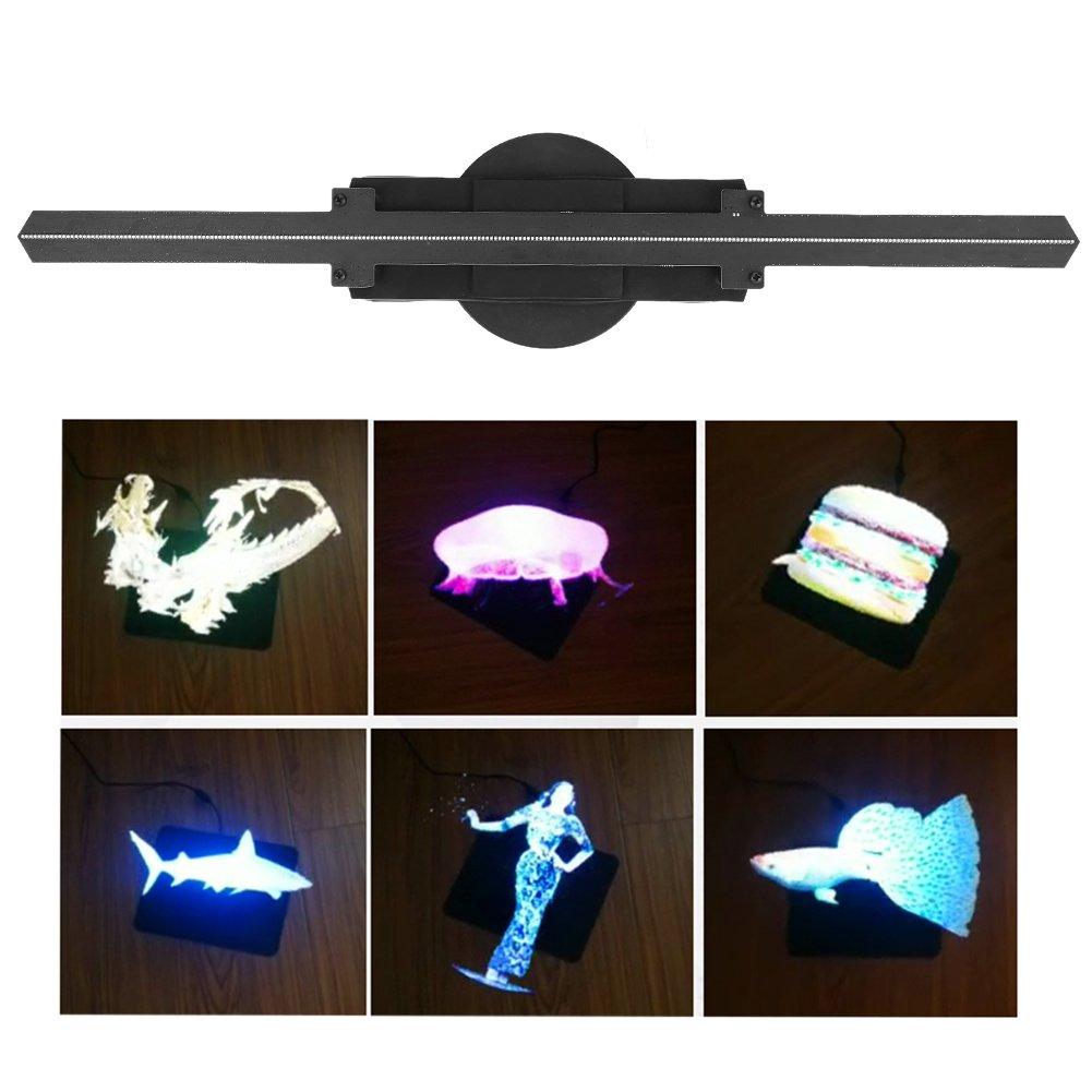 Holograma Ventilador proyector holográfico 3D LED WiFi Proyector ...