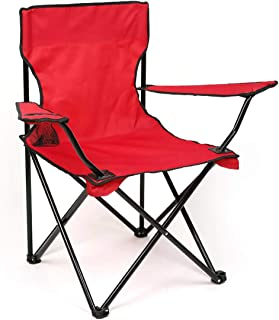 Camptrek Foldable Beach And Garden Chair, Red, BCI-3707