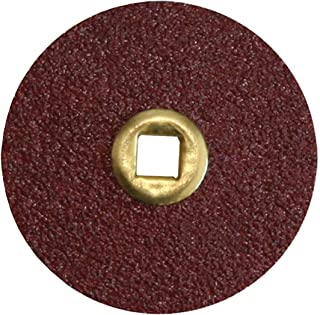 Moore`s Snap-On Metal Center Abrasive Discs- Course 50 Pcs/Pack, Made in the USA