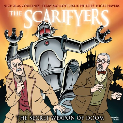 『The Scarifyers: The Secret Weapon of Doom』のカバーアート