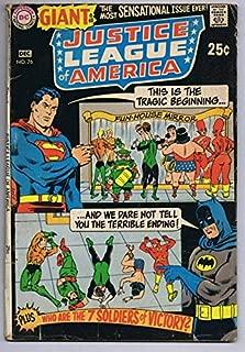 Justice League of America #76 ORIGINAL Vintage 1969 DC Comics