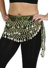 Belly Dance Chiffon Wavy Leopard Design Training Hip scarf - Jungle Fun