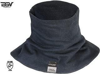 Kevlar Welding Neck Protection - Cut, Scratch & Heat Resistant Neck Protector/Gaiter, 100% Kevlar by DuPont- Protection for Men & Women (Black)