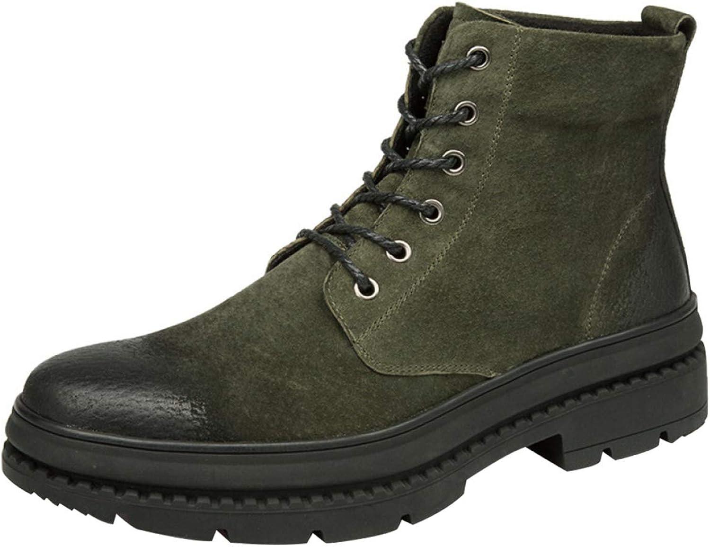 Men's Vintage High Boots Fashion Martin Boots Desert Boots
