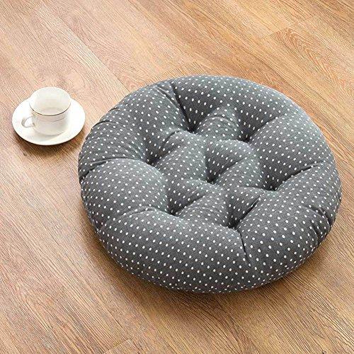 XMZDDZ Tatami-matten, demping van de zitting, voor op kantoor, op de vloer, rond, voor op de vloer, voor op het balkon 45x45cm(18x18inch) P