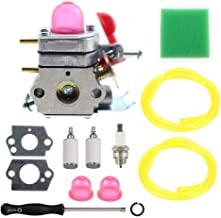 ANTO 530071811 Carburetor for Craftsman Poulan Weedeater Husqvarna PP025 PP125 PP25E PP325 P4500 P4500F Trimmer PP258TP PP133 PP125 Engines with Tune Up Kit
