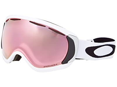 Oakley Canopy Large (Matte White/Prizm Hi Pink) Snow Goggles