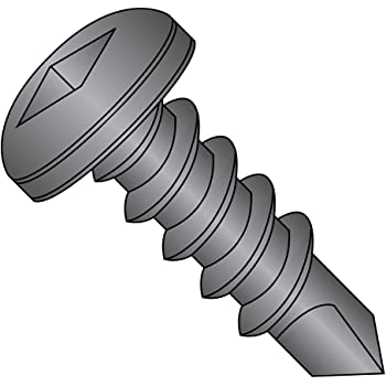 #2 Drill Point Pan Head Pack of 50 1//2 Length Phillips Drive 1//2 Length Small Parts 0808KPP410 #8-18 Thread Size Plain Finish 410 Stainless Steel Self-Drilling Screw Pack of 50