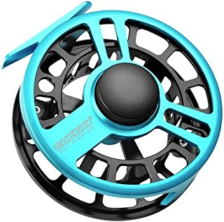 Cheeky Fly Fishing Boost 400 Fly Reel Blue/Black, 7/8 Weight