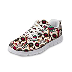 bb33f9e39e562 Tennis shoes skull - Casual Women's Shoes