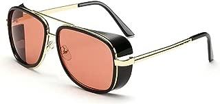 Generic Aviator Unisex Sunglasses (Av01|5.8|Red)