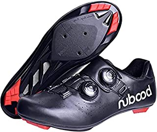 ZMYC MTB Cycling Shoes Road Bike Shoes Men Anti-skid Breathable Self-Locking Cycling Shoes Adults For Outdoor Sports Mountain Biking (Color : Black, Size : 40)