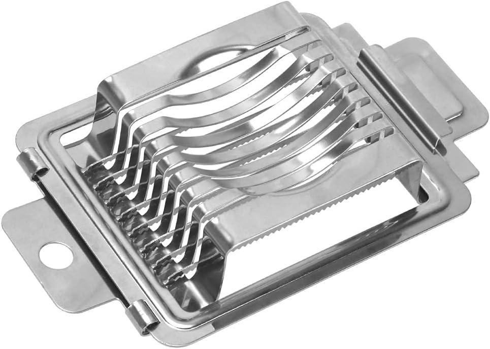Regular store FYMTS Stainless Ranking TOP3 Steel Boiled Egg Cutter Slicer Section Slice