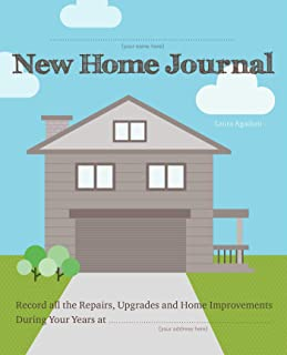 New Home Journal: Record All the Repairs,