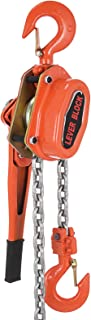 VEVOR Lever Block Chain Hoist 3Ton 6000LBS Chain Block 10FT Chain Hoist Winch Lift Hoists with Hook (10FT)
