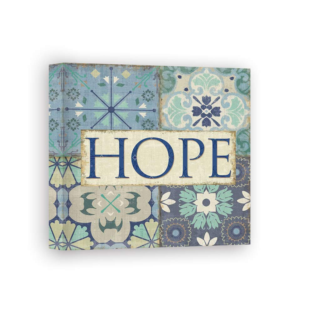 Impresión sobre Lienzo Wall Art Pela Studio Santorini II - Hope: Amazon.es: Hogar